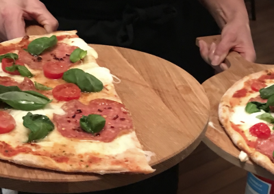 Pizza Bufala spinata calabra